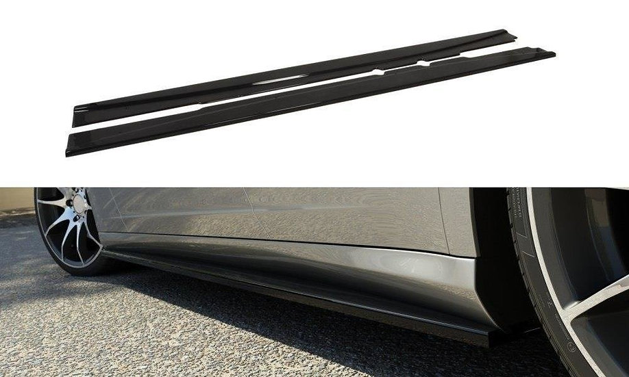 MERCEDES CLS C219 SIDE SKIRTS DIFFUSERS
