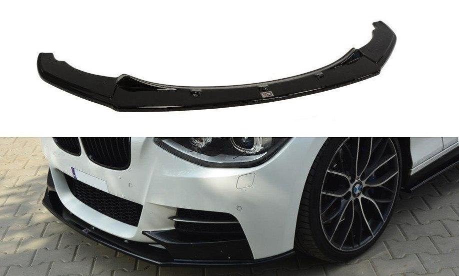 BMW 1 F20F21 M-POWER (PREFACE) FRONT SPLITTER