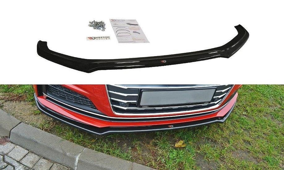 AUDI S5  A5 S-LINE F5 COUPE  SPORTBACK FRONT SPLITTER V.1