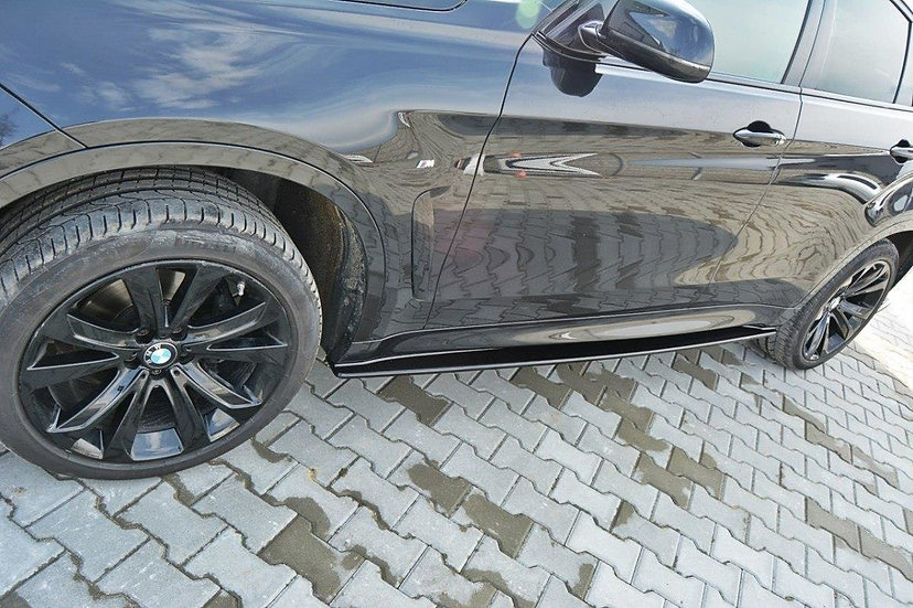 BMW X6 F16 MPACK SIDE SKIRTS DIFFUSERS
