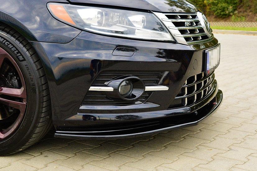 VW CC R-LINE FRONT SPLITTER