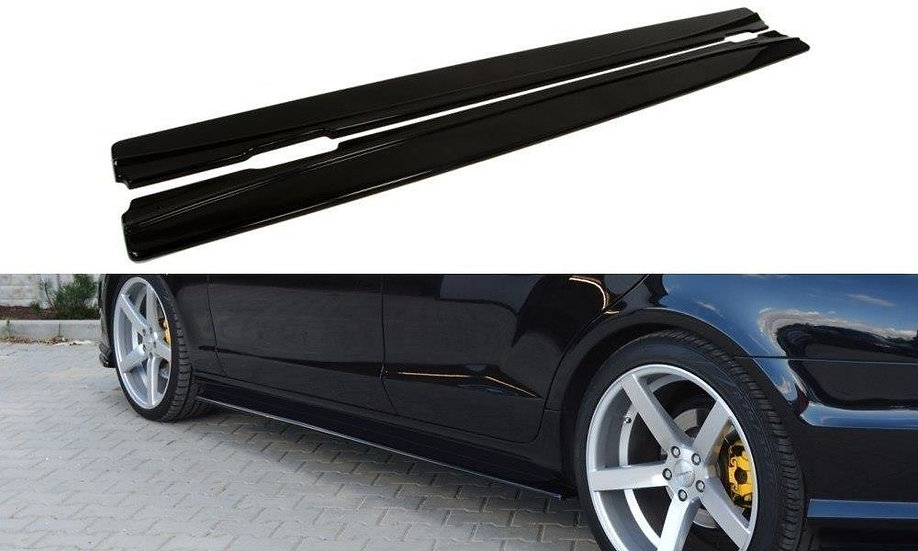 MERCEDES CLS C218 AMG LINE SIDE SKIRTS DIFFUSERS