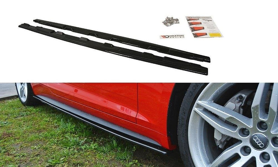 AUDI S5  A5 S-LINE F5 COUPE SIDE SKIRTS DIFFUSERS