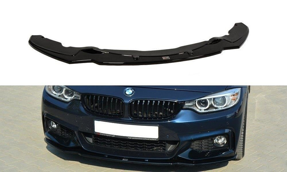 BMW 4 F32 M-PACK FRONT SPLITTER V.1