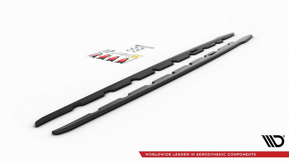 BMW 1 F40 M-PACK SIDE SKIRTS DIFFUSERS V.2
