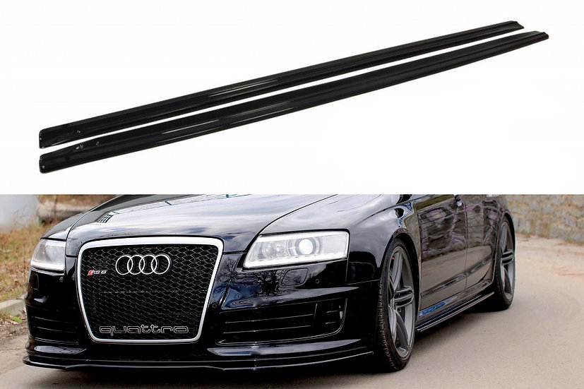 AUDI RS6 C6 SIDE SKIRTS DIFFUSERS