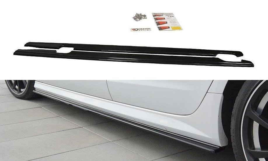 AUDI S6  A6 S-LINE C7 FL SIDE SKIRTS DIFFUSERS