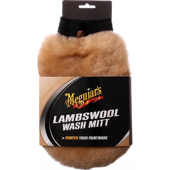 Meguiars Lambwool Wash Mitt With Bug Remover