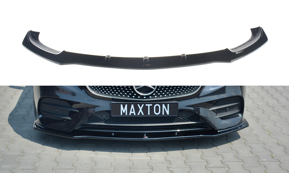 MERCEDES-BENZ E-CLASS W213 COUPE(C238) AMG-LINEE43 AMGFRONT SPLITTER V.1