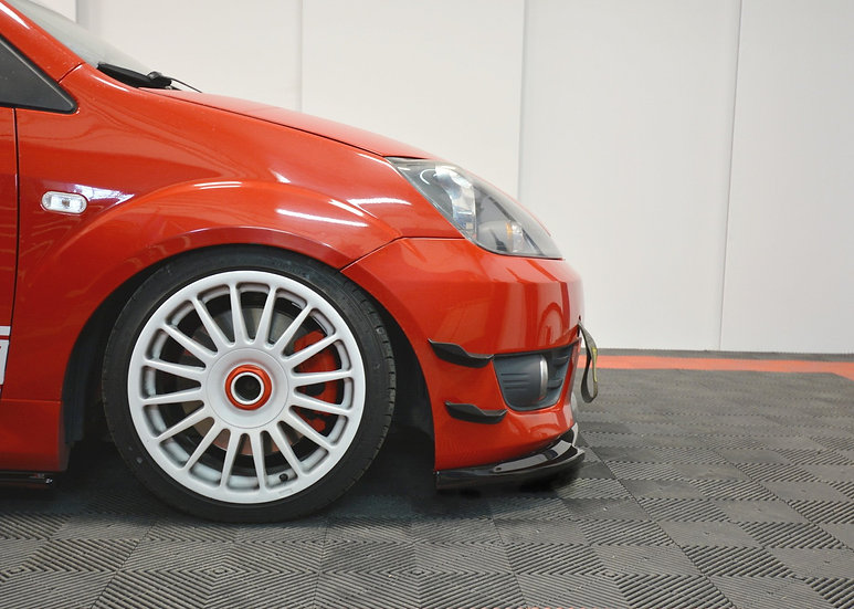 FORD FIESTA ST MK6 FRONT BUMPER WINGS (CANARDS)