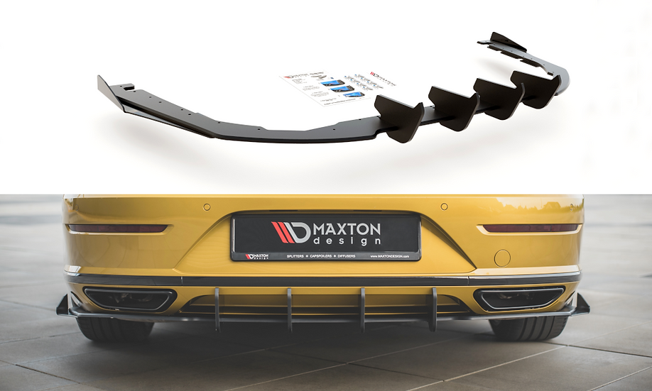 VW ARTEON R-LINE RACING DURABILITY REAR VALANCE + FLAPS