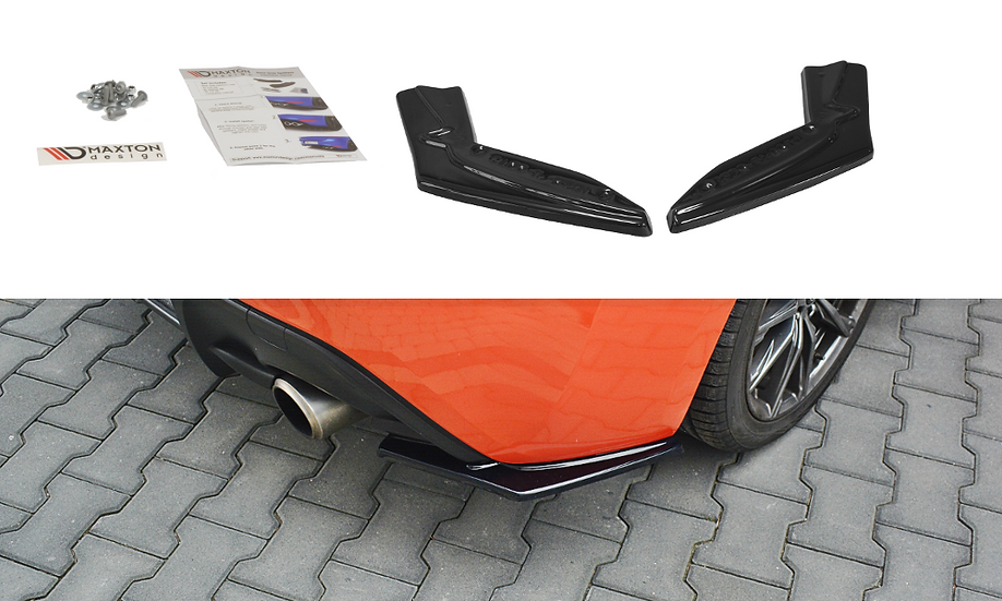 TOYOTA GT86 FL REAR SIDE SPLITTERS V.1