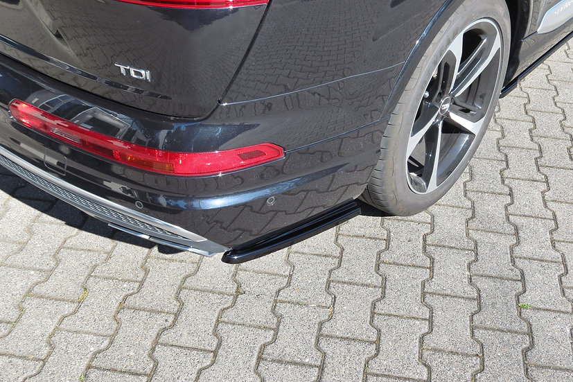 AUDI SQ7  Q7 S-LINE MK.2 REAR SIDE SPLITTERS