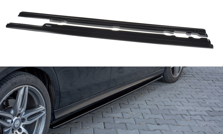 MERCEDES-BENZ E43 AMG  AMG-LINE W213 SIDE SKIRTS DIFFUSERS