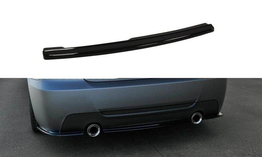 BMW 3 E92 MPACK CENTRAL REAR SPLITTER