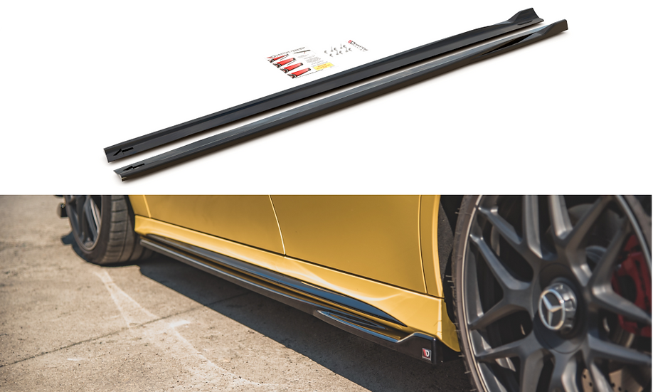 MERCEDES-AMG A 45 S W177 SIDE SKIRTS DIFFUSERS