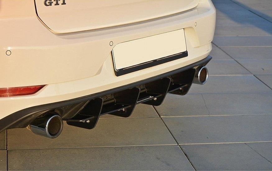 VW GOLF MK7 GTI FACELIFTREAR DIFFUSER