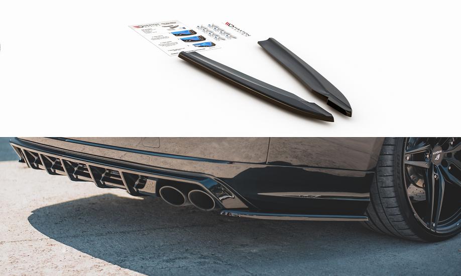 AUDI S8 D4 FACELIFT REAR SIDE SPLITTERS V.2