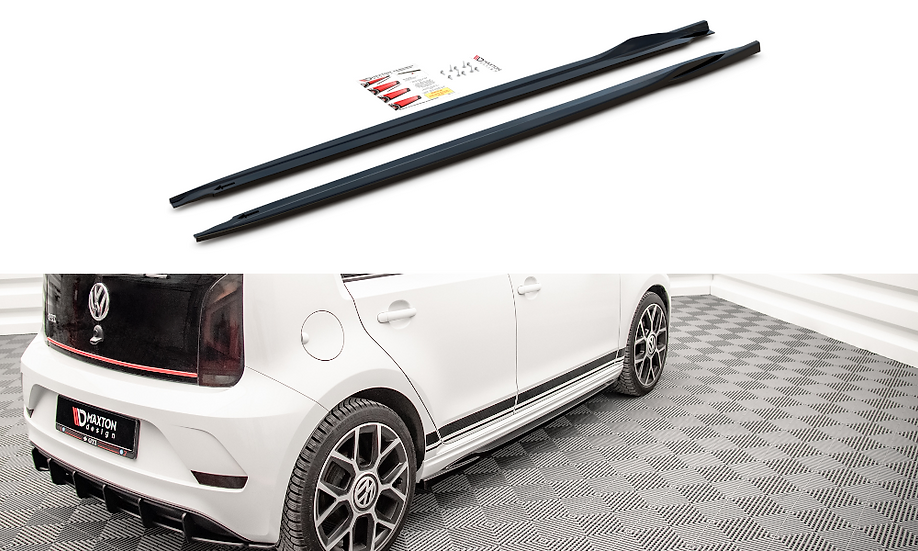 VOLKSWAGEN UP GTI SIDE SKIRTS DIFFUSERS