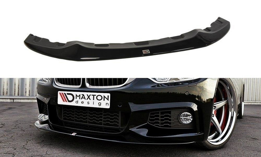 BMW 4 F32 M-PACK FRONT SPLITTER V.2  (GTS-LOOK)