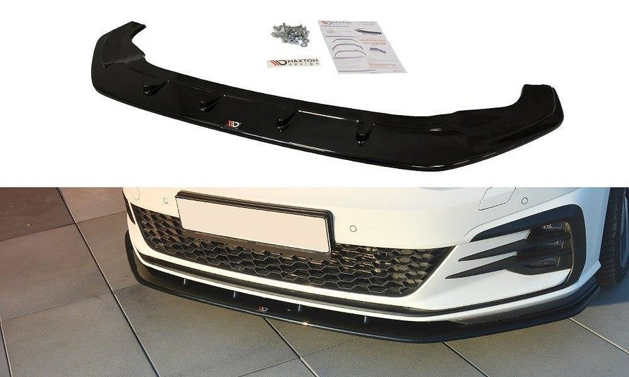 VW GOLF MK7 GTI FACELIFT V.1 FRONT SPLITTER
