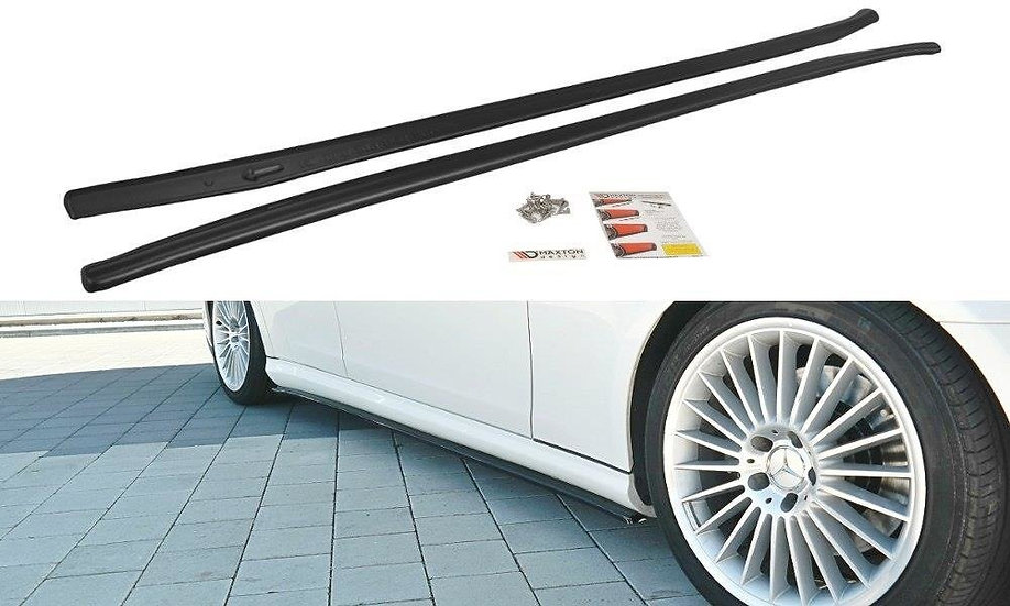 MERCEDES CLS C219 55AMG SIDE SKIRTS DIFFUSERS