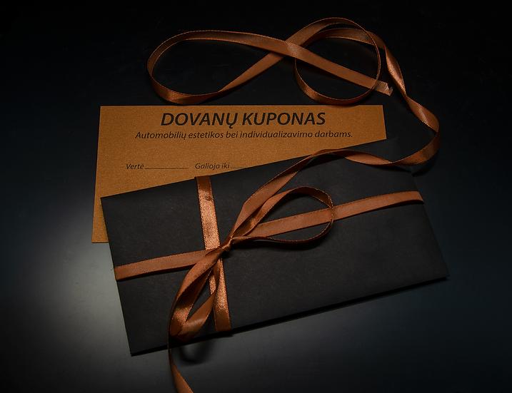 JDV DOVANŲ KUPONAS