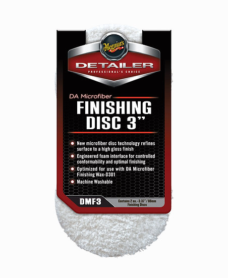 Meguiars DA Microfiber Finishing Disc 3'