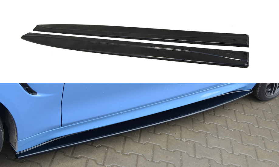 BMW M4 F82 SIDE SKIRTS DIFFUSERS