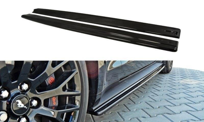 FORD MUSTANG MK6 GT SIDE SKIRTS DIFFUSERS