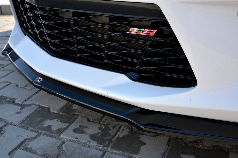 CHEVROLET CAMARO 6TH-GEN. PHASE-I 2SS COUPE FRONT SPLITTER V.2