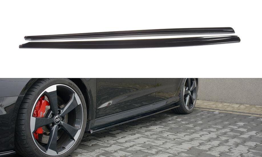 AUDI RS3 8V FL SPORTBACK SIDE SKIRTS DIFFUSERS
