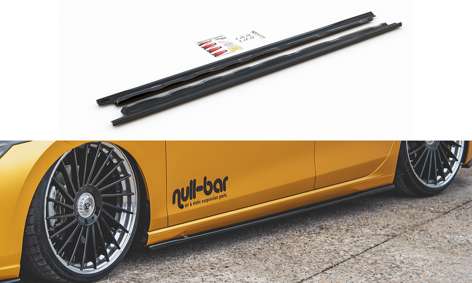 VW GOLF 8 SIDE SKIRTS DIFFUSERS V.1