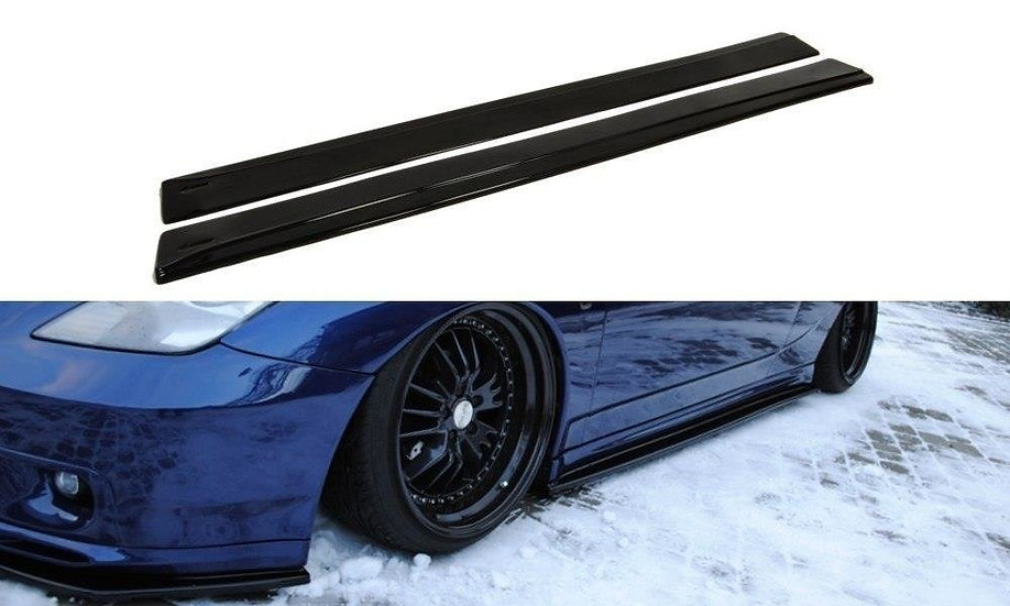 TOYOTA CELICA T23 TS PREFACE SIDE SKIRTS DIFFUSERS