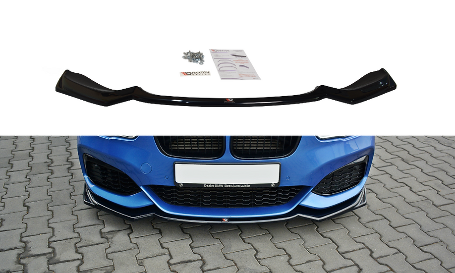 BMW 1 F20F21 M-POWER FRONT SPLITTER V.2