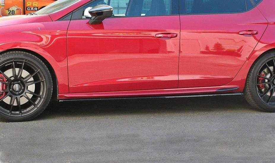 SEAT LEON MK3 CUPRA FR FL SIDE SKIRTS DIFFUSERS V.1