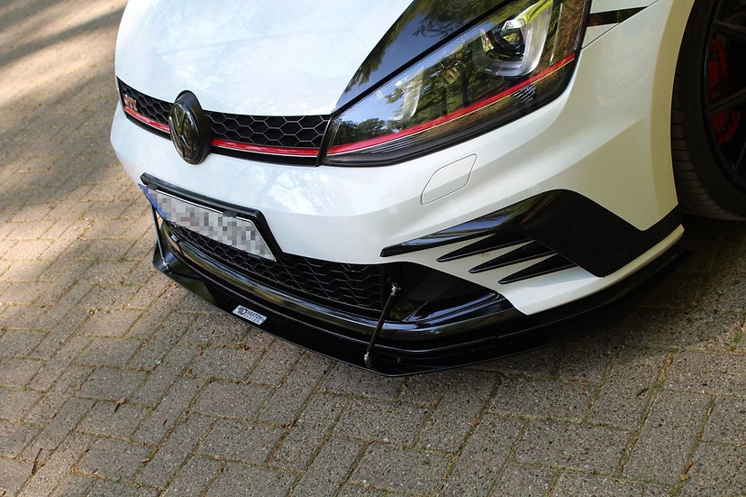 VW GOLF MK7 GTI CLUBSPORTFRONT RACING SPLITTER