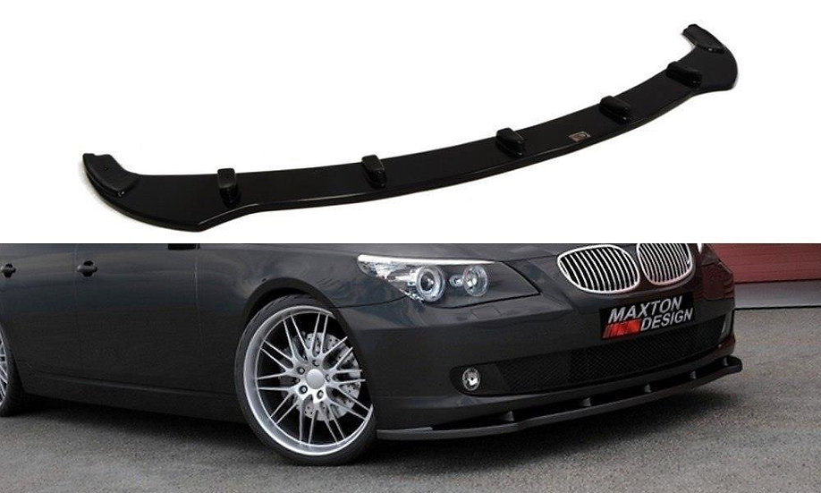 BMW 5 E60 / E61 FRONT SPLITTER  (FACELIFT MODEL)