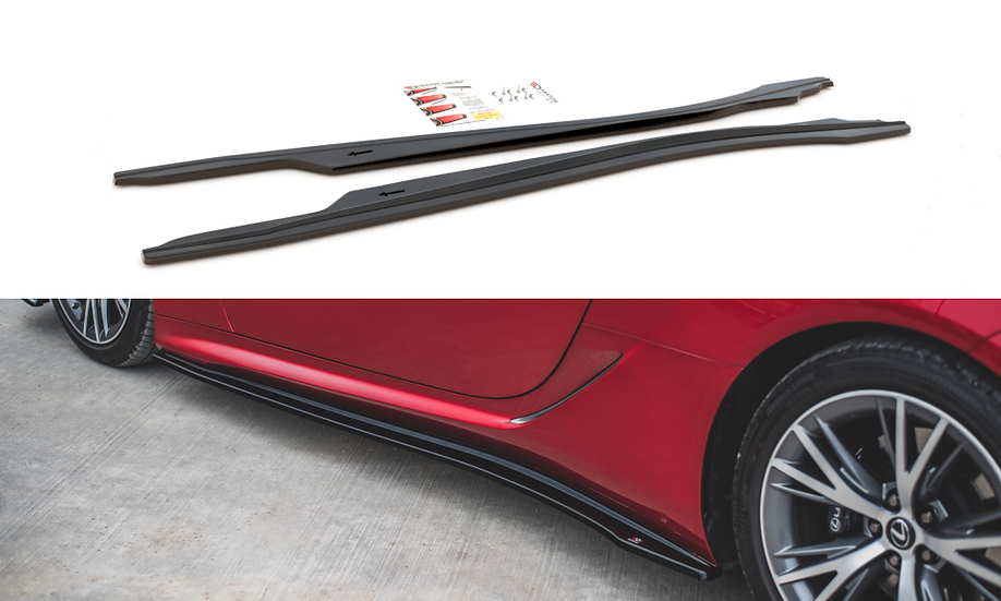 LEXUS LC 500 SIDE SKIRTS DIFFUSERS