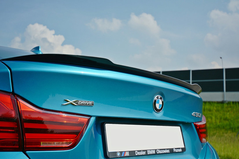 BMW 4 F36 GRAN COUPÉ SPOILER EXTENSION