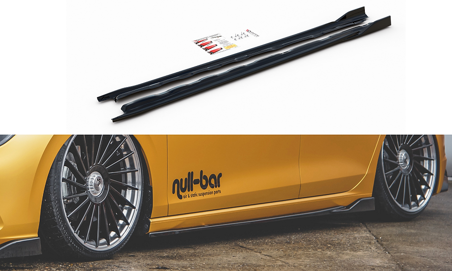 VW GOLF 8 SIDE SKIRTS DIFFUSERS V.2