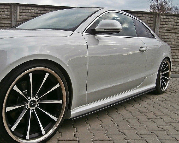 AUDI RS5 8T  8T FL SIDE SKIRTS DIFFUSERS