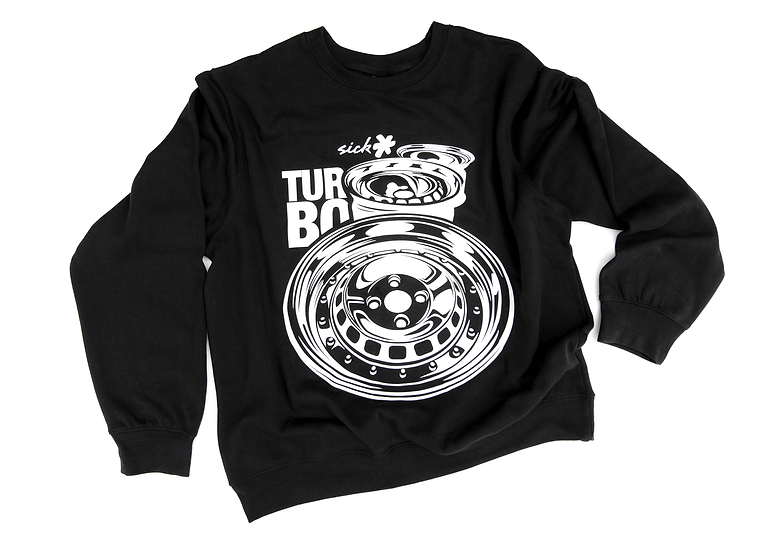 TURBO RIMS SWEATSHIRT