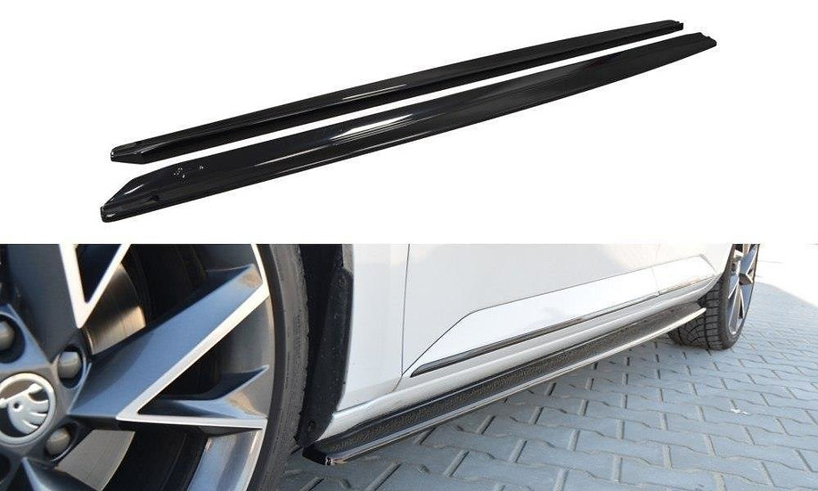 SKODA SUPERB MK3 SIDE SKIRTS DIFFUSERS