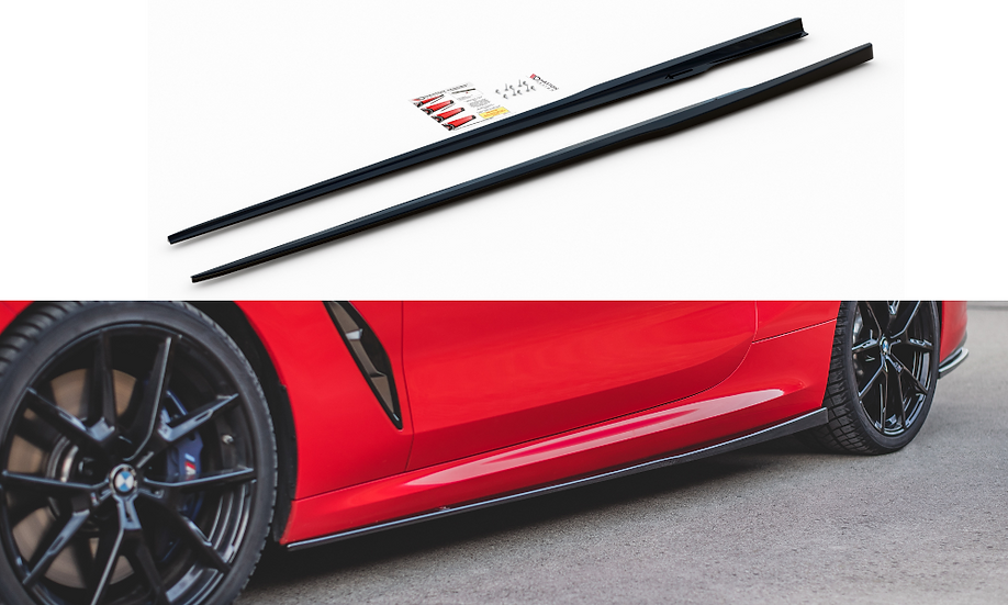 BMW M850I G15 SIDE SKIRTS DIFFUSERS