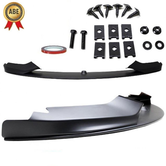 BMW 4 F32 F33 F36 FRONT SPOILER SPORT-PERFORMANCE  BLACK MATT WITH M-PACKAGE