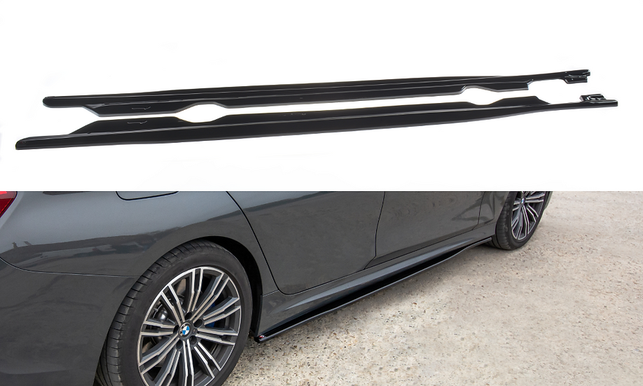 BMW 3 G20 M-PACK SIDE SKIRTS DIFFUSERS