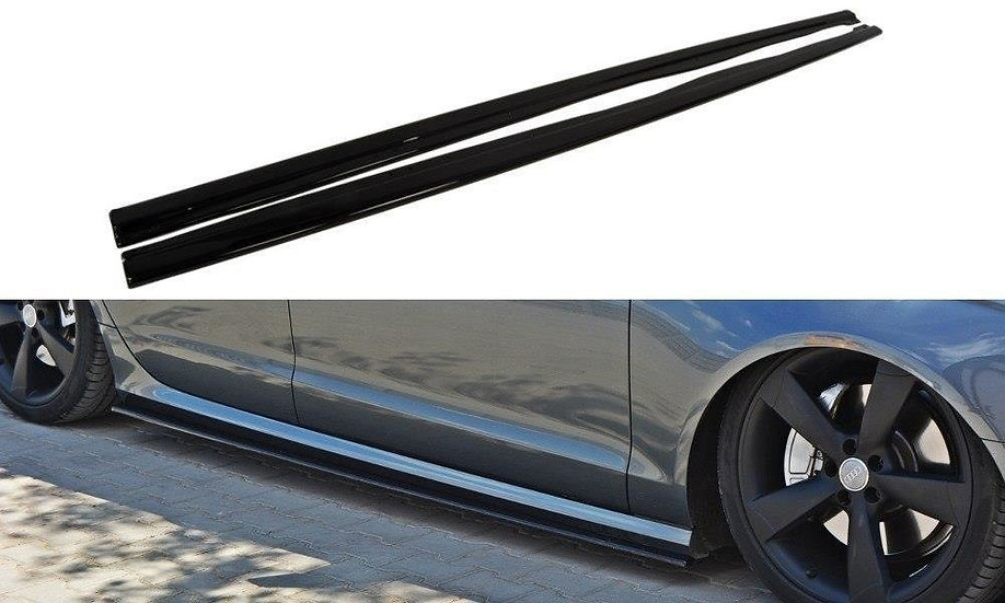AUDI S6  A6 S-LINE C7 SIDE SKIRTS DIFFUSERS