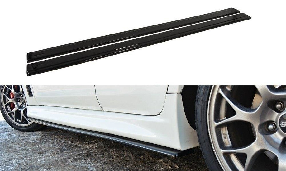 MITSUBISHI LANCER EVO X SIDE SKIRTS DIFFUSERS