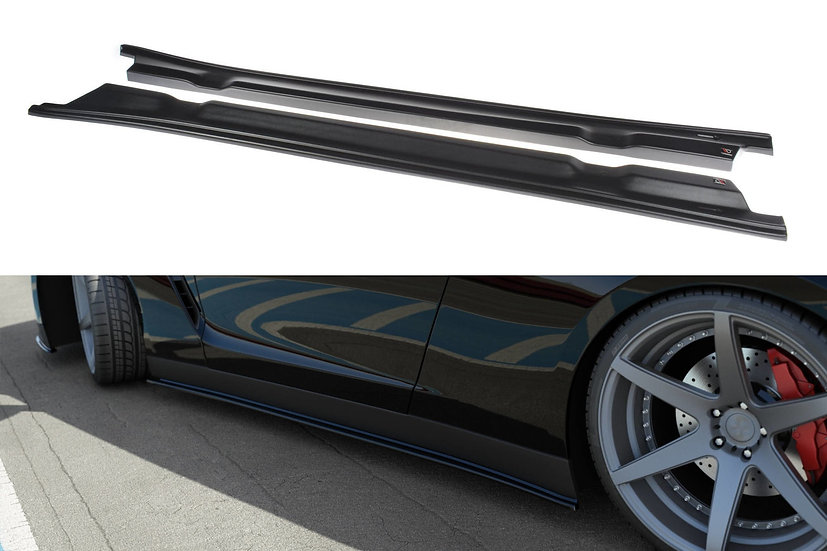 NISSAN GT-R PREFACE COUPE R35 SIDE SKIRTS DIFFUSERS